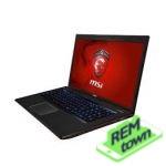 Ремонт ноутбука MSI GE70 2OD