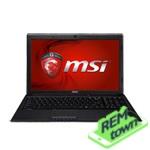 Ремонт ноутбука MSI GP60 2OD