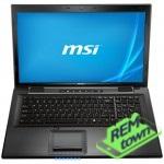 Ремонт ноутбука MSI cx70 2od