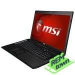 Ремонт ноутбука MSI ge60 2oe