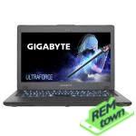 Ремонт ноутбука GIGABYTE P17F