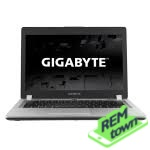 Ремонт ноутбука GIGABYTE P34G