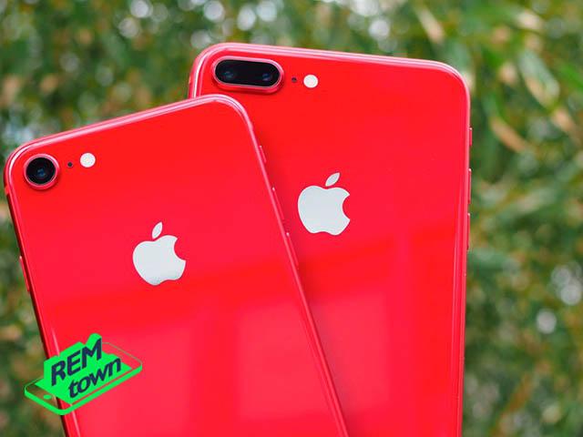 Красные iPhone 8 в продаже с мая